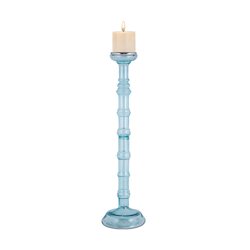 Catalina Sea Mist Candle Holder - Grande - Blue