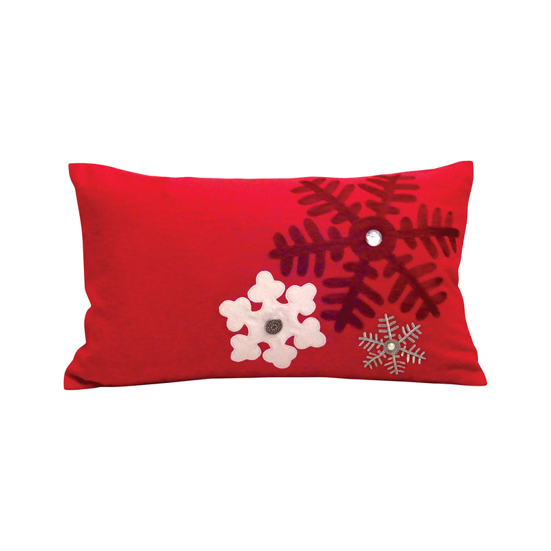 Festival 20x12 Pillow - Ribbon Red