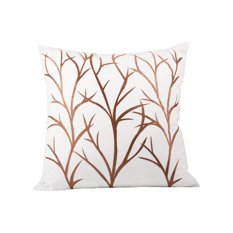 Willows 20x20 Pillow - Crema