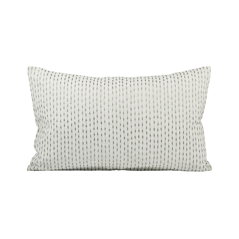 Wainscot 20x12 Pillow - Crema