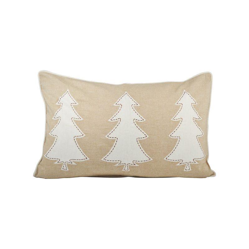 Winter Edge 26x16 Lumbar Pillow - Crema