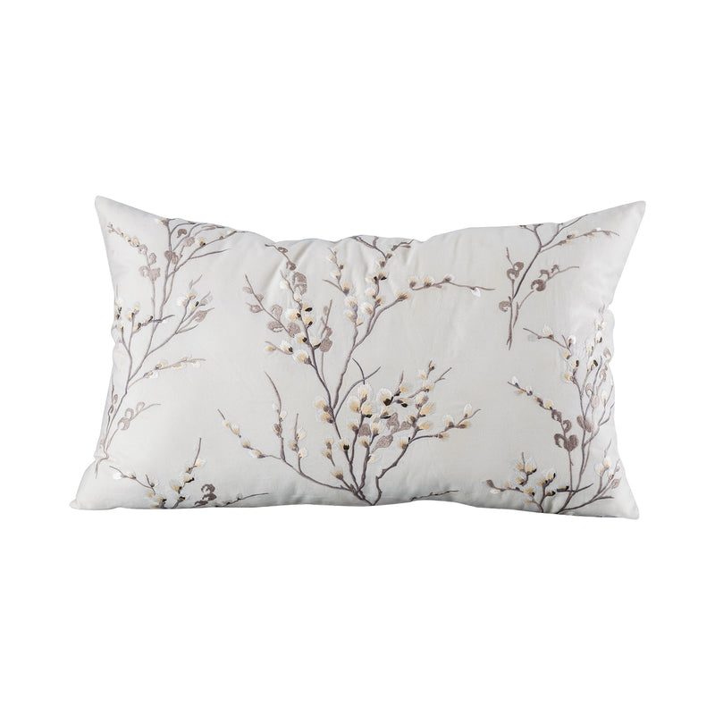 "Willow Pillow 16x26"" - Crema"