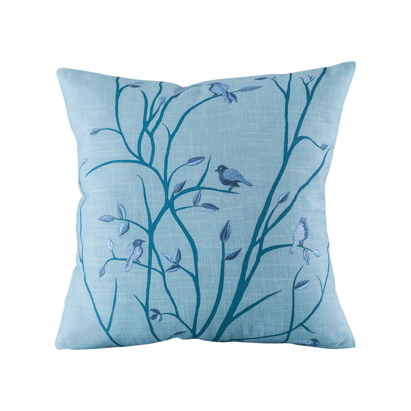 "Windsong Pillow 20x20"" - Blue Meadow"