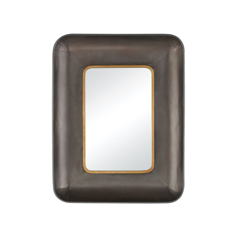 Adler Wall Mirror - Brown