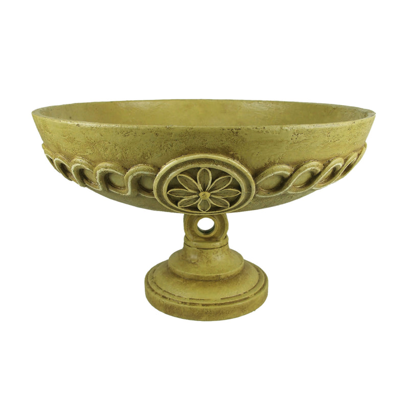 MEDALLION SCROLL BOWL -