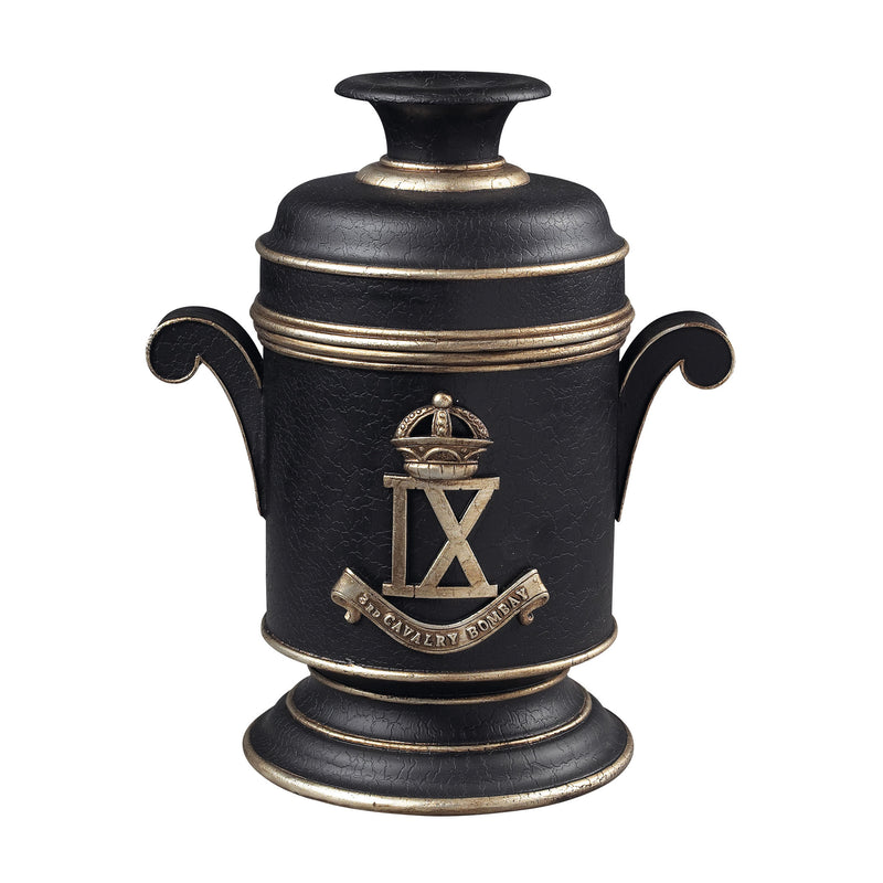3RD CAVALRY BOMBAY BOX - BARNETT BLACk WITH GOLD
