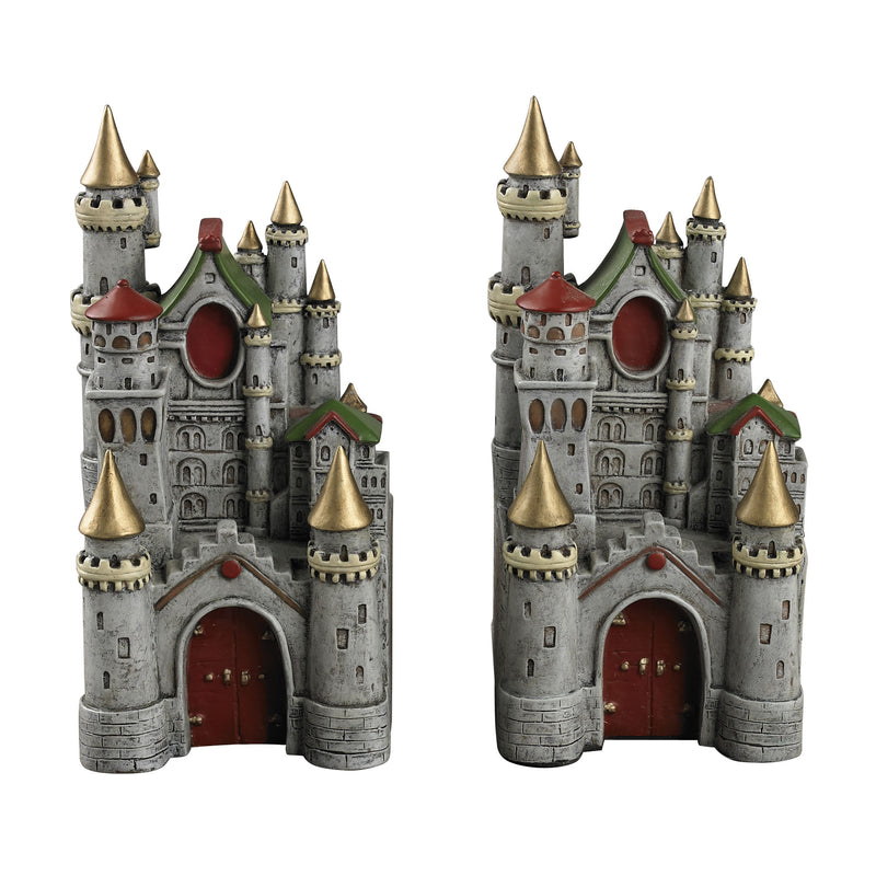 PRINCESS CASTLE BOOk ENDS - DUMONT GREY