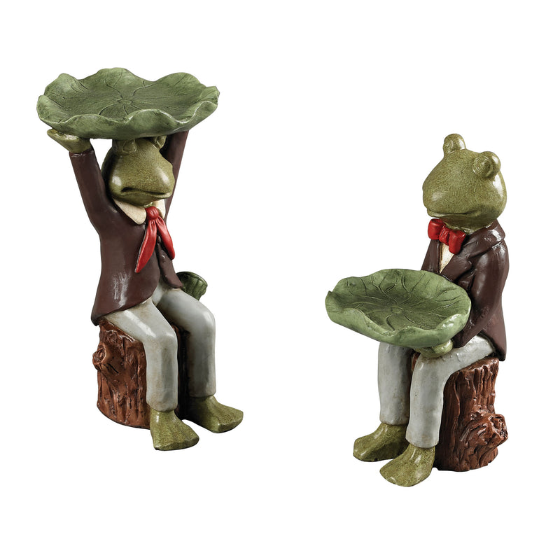 SCOUT FROG kEEPSAkE DISHES - Penarth Bronze