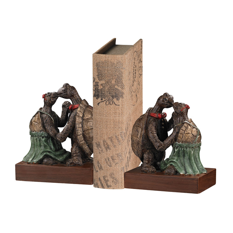 kISSING TURTLE BOOkENDS - GRANTOWN