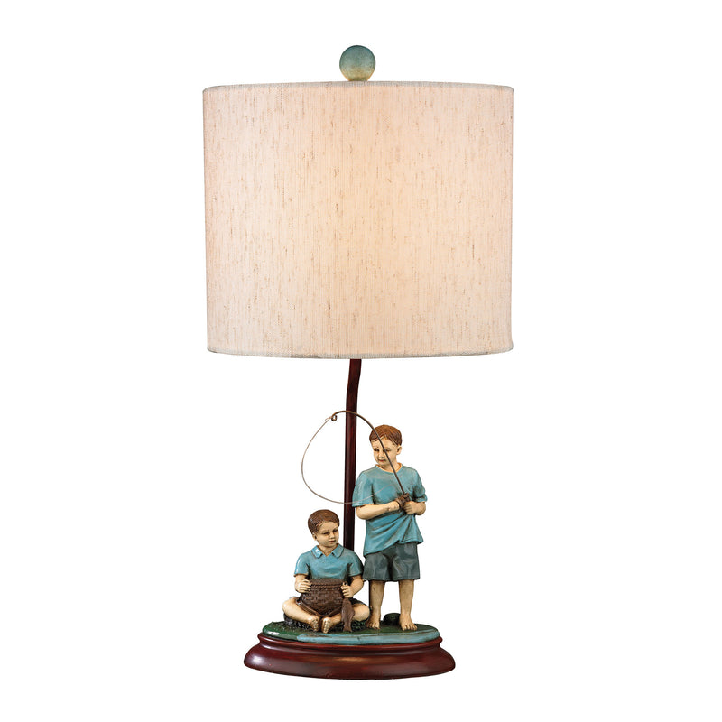 BROTHERS FISHING ACCENT LAMP - WILTON