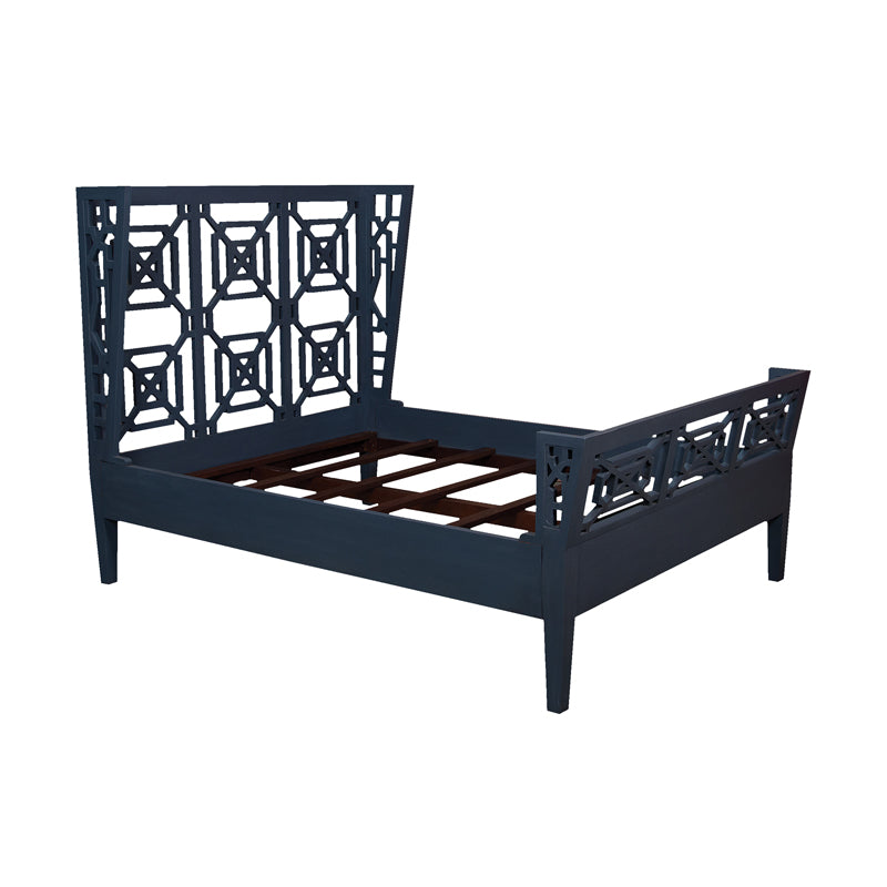 Manor Queen Bed - Manor Blue Slate