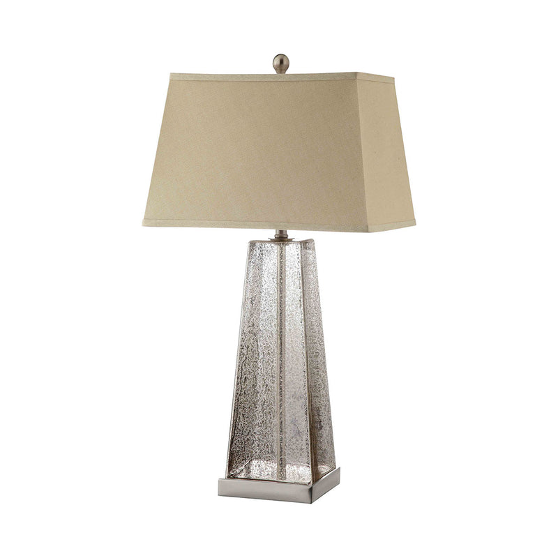 Armley Table Lamp in Mercury