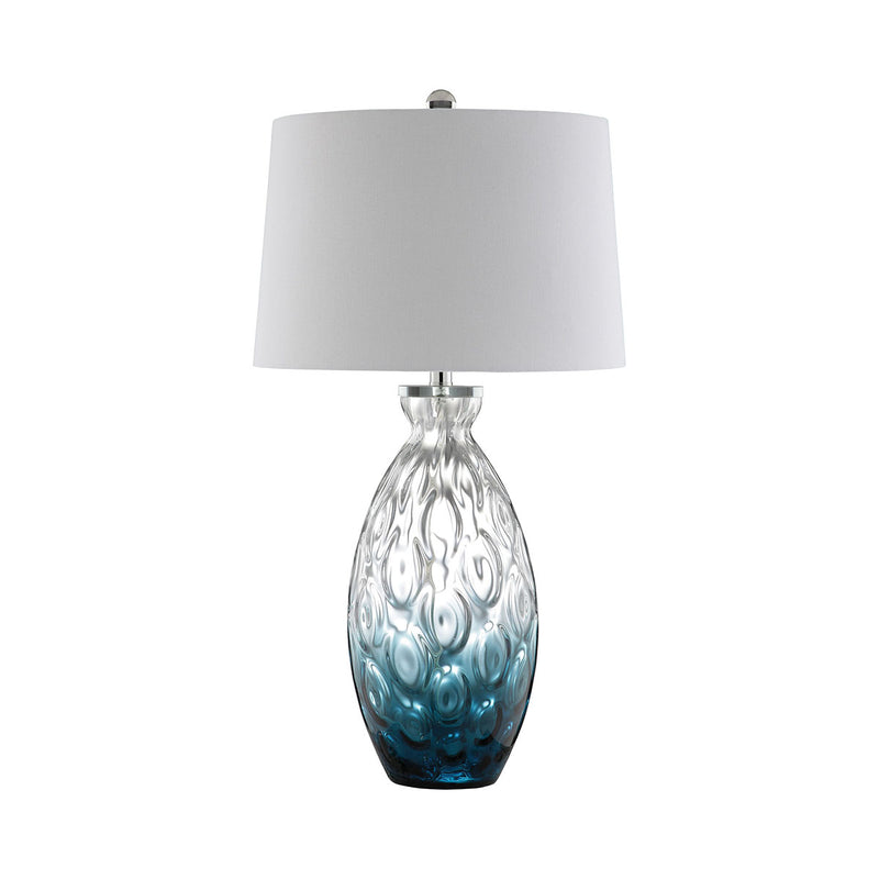 Barretta Table Lamp in Cerulean Blue