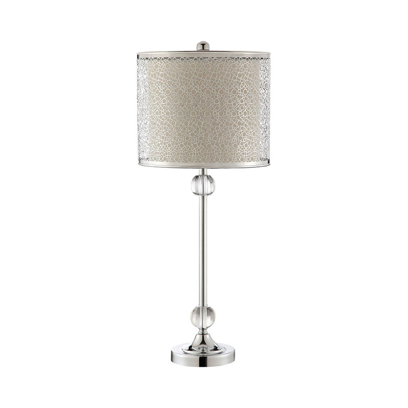 Amaryllis Table Lamp in Chrome