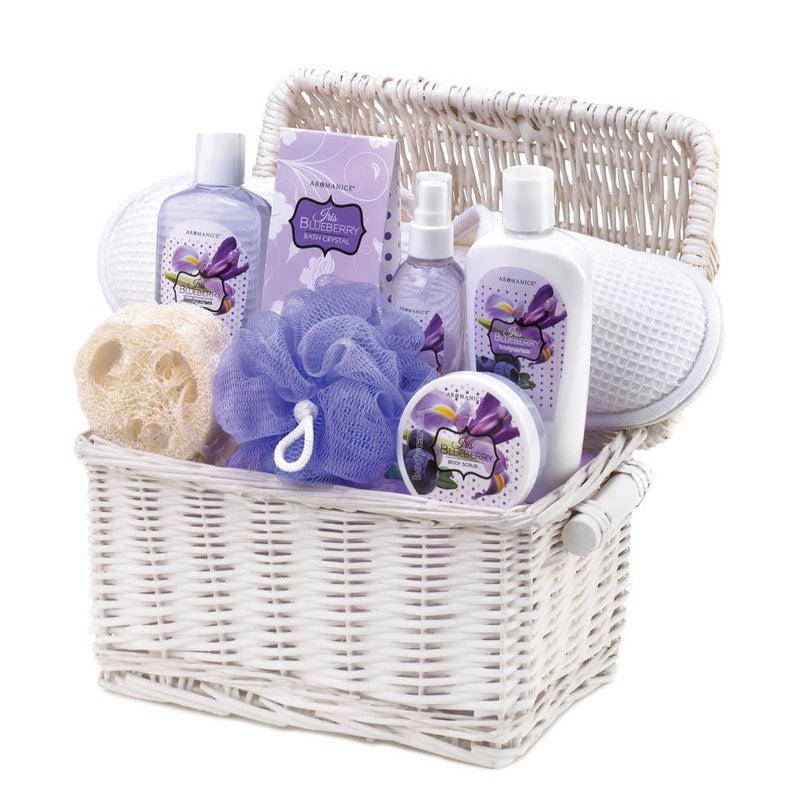 GIFT BASKET - IRIS BLUEBERRY SPA SET