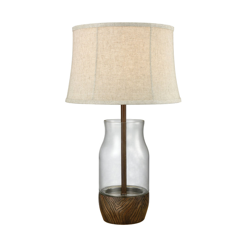 Camarillo Outdoor Table Lamp - Clear