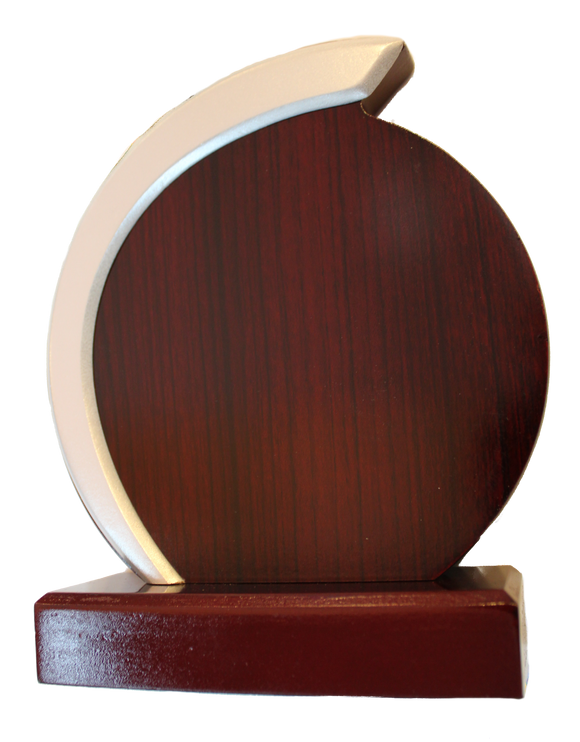 Rosewood Laminate Award - Circle