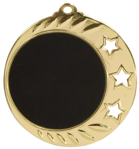 3 Star Laserable Medal - 1.5""