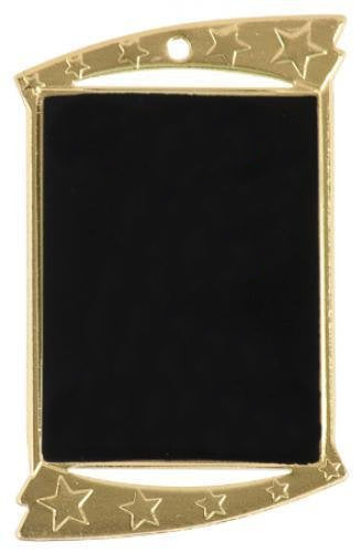 Laserable Rectangle Medal 2.75