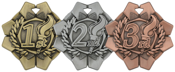 Imperial Medal - 1st, 2nd, 3rd - 2″