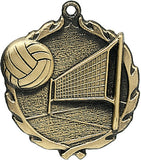 Sculptured Medal - Volleyball - 2.5″