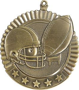Star Medal – Football - 2.75″