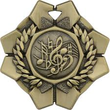 Imperial Medal - Music - 2""