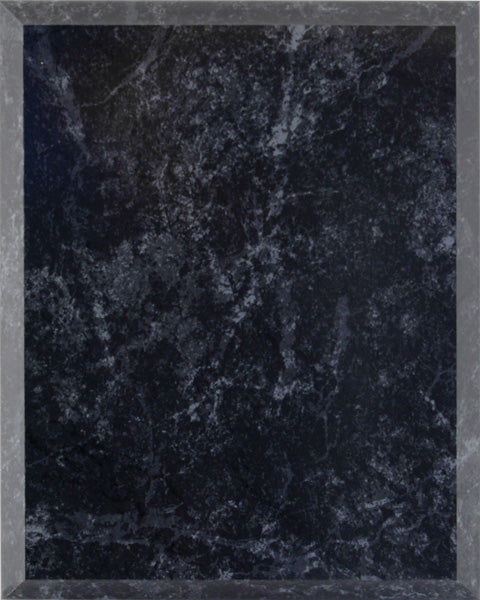 Laminate Plaque Board - Black Marble