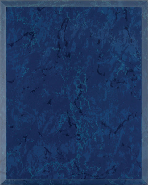 Laminate Plaque Board - Blue Marble