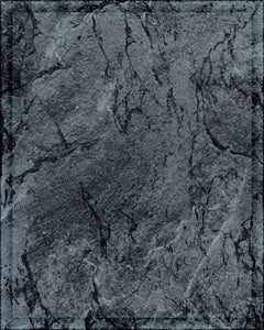 Laminate Plaque Board - Charcoal Marble