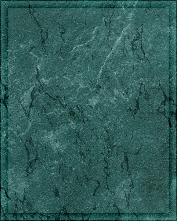 Laminate Plaque Board - Green Marble