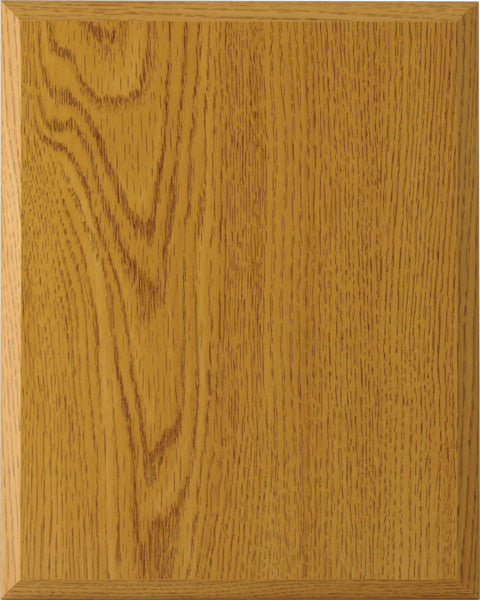 Laminate Plaque Board - Oak