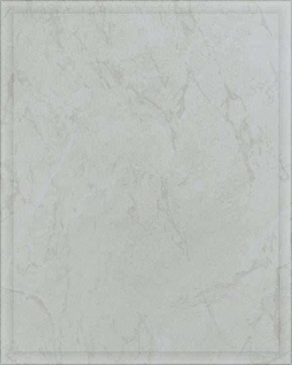Laminate Plaque Board - White Marble