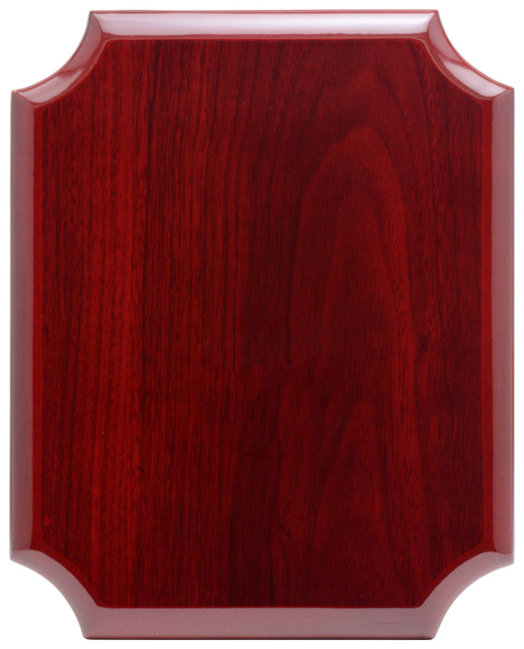 Notched Corner Plaque - Rosewood