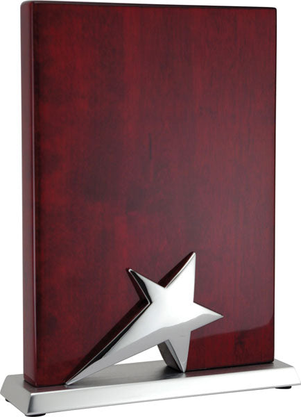 Star Plaque - Rosewood