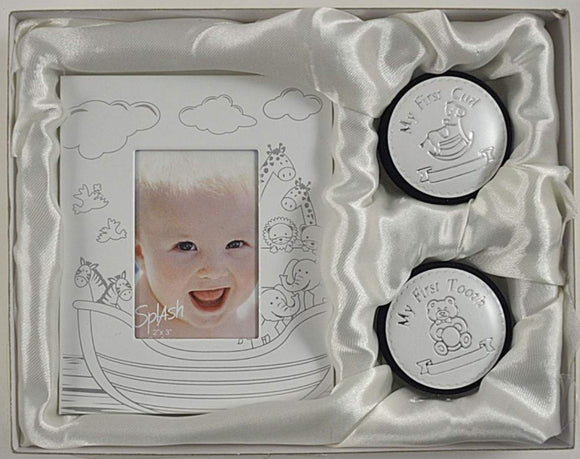 1st Tooth/Curl w/Noah's Ark Frame