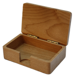 Business Card Box - Maple