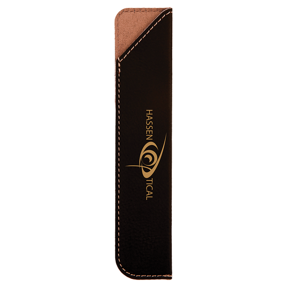 Leatherette Pen Sleeve