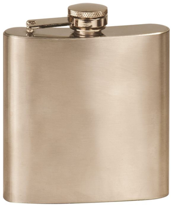 Flask - Stainless Steel - 6oz