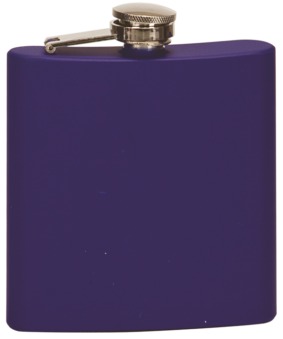 Flask - Matte Blue - 6oz