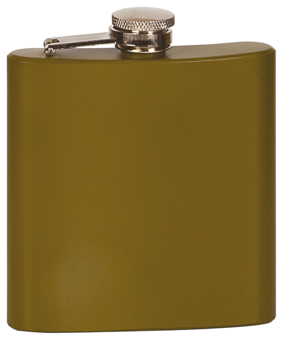 Flask - Matte Green - 6oz