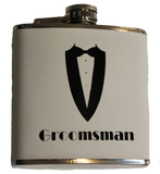 Flask - Groom, Best Man, Groomsman