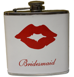 Flask - Bride, Maid of Honour, Bridesmaid