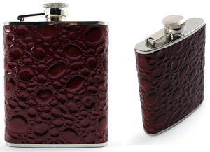 Flask - Red Stone - 6oz