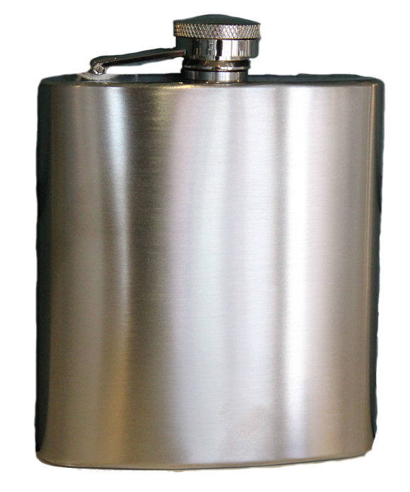 Flask - Stainless Steel - 7 oz