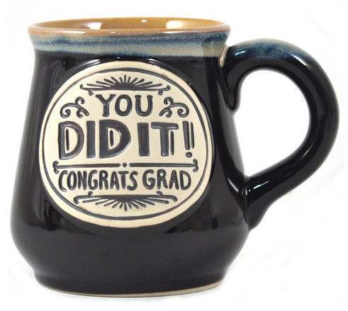 Grad Mug - You Did It - 18oz Ceramic