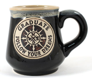 Grad Mug - Follow Your Dreams - 18oz Ceramic