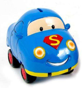 Bank - Car - Superman