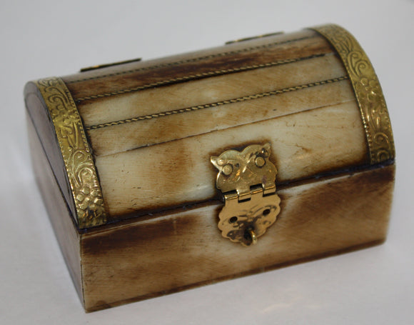 Trinket Box - Bone - Chest medium