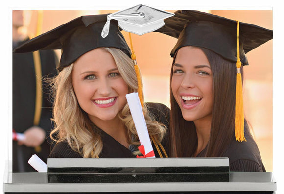 Grad Frame - 4x6 w/Hat Icon